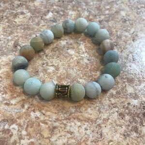 Jewelry - Jade Bracelet Nephrite Beaded Bracelet